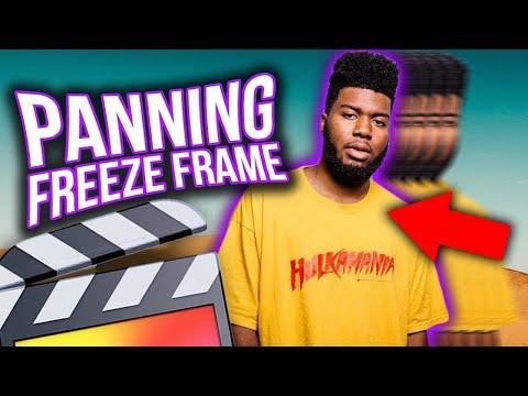 PANNING FREEZE FRAME ANIMATION – FINAL CUT PRO X