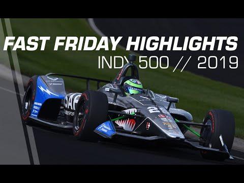 インディカー第6戦インディ500 フリープラクティス