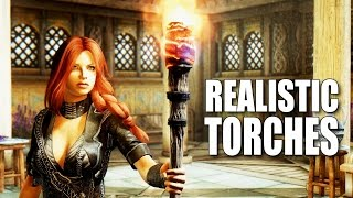 REALISTIC TORCHES - Skyrim Mods Watch