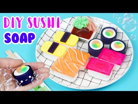 How to Make DIY Sushi Soap!