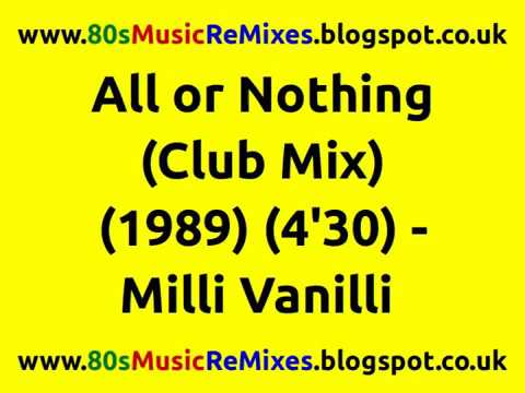 All or Nothing (Club Mix) - Milli Vanilli | 80s Club Mixes | 80s Club Music | 80s Dance Music