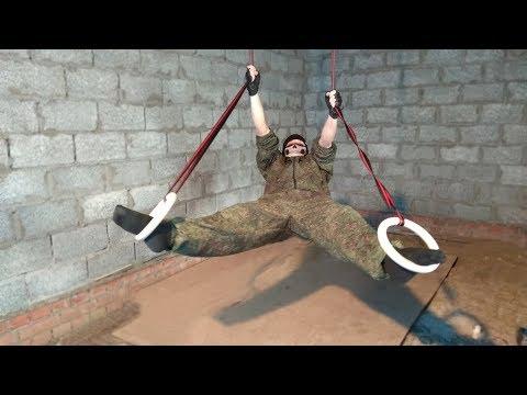 Гимнастические кольца WORKOUT   базовые упражнения на кольцах   gymnastic rings