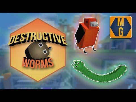 Destructive Worms Game Minecraft Project - Alle minecraft spiele online