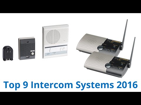 9 Best Intercom Systems 2016