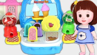 Baby Doli Candy vending machine Ice cream shop baby doll story