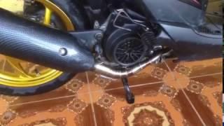 Knalpot Tsukigi (RRGS) Honda Beat fi