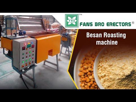 Besan Roasting Machine