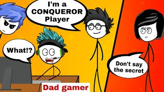 What if a gamer dad is pubg mobile pro player part 1