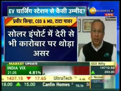 Interview of Mr. Praveer Sinha, CEO & MD, Tata Power to Zee Business on Q4 FY21 yearly performance