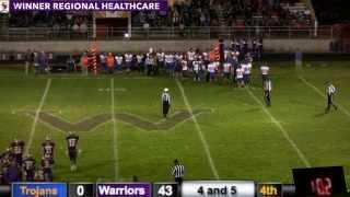 Parkston Trojans vs Winner Warriors (Football)