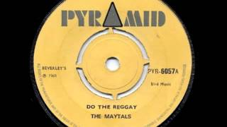 The Maytals-Do The Reggay