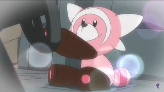 Stufful  - (Pokémon) - Cute Baby Stufful Wants to Drive Pokemon Sun and Moon Episode 112 English Dub Clip