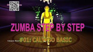 #01 Calypso Basic Steps | Learn Zumba Step By Step | Zumba Basics