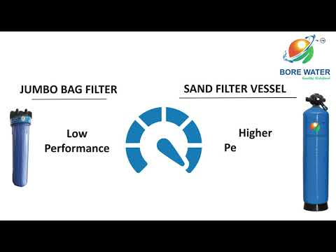 Bore Water Sand Filter