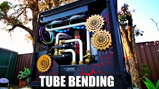 How to Bend Hard Tube For PC Water Cooling - Beginners PC Water Cooling Guide 2019