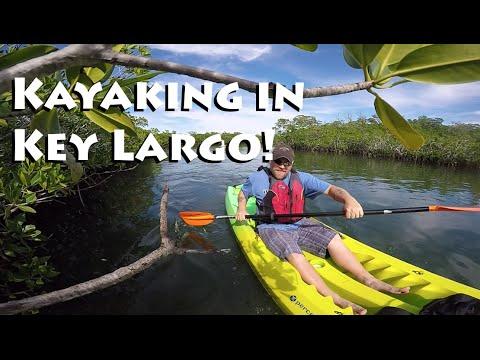 Video Kayaking in Key Largo, Florida