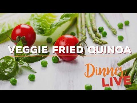 Veggie Fried Quinoa | Dinner LIVE