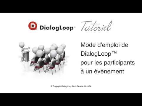 Événement TROP - Tutoriel DialogLoop™ pour participants