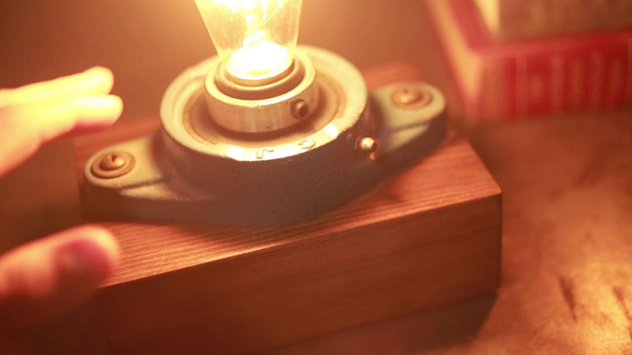 Cast Iron Industrial // Rectangular Lamp video thumbnail