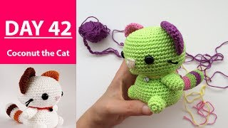 Completion Coconut the Cat || 100DaysOf10MinuteCrochet || Day 42