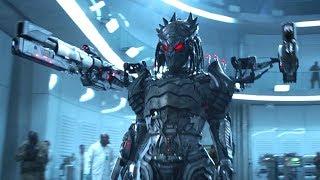 外星战士拥有人类基因,送给人类一件武器,战斗力爆表!