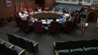 MCPS Policy Management Committee Meeting - 6/12/2019
