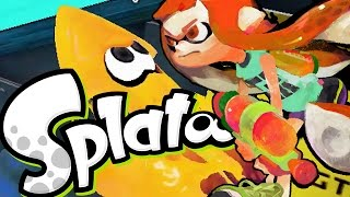 Splatoon - Lets Go 4 and 0 [Turf Wars] - Wii U Gameplay