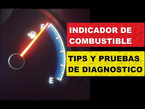 Como Probar el Medidor de Nivel Combustible (con diagramas y explicación paso a paso)