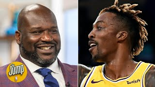 Dwight Howard is playing so well for the Lakers, Shaq is praising him on IG | The Jump