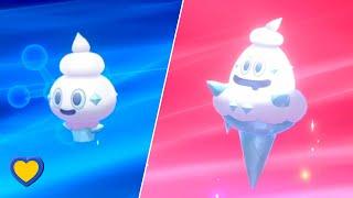 Vanillite  - (Pokémon) - HOW TO Evolve Vanillite into Vanillish in Pokemon Sword and Shield