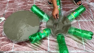 DIY -❤️ CRAZY IDEAS WITH CEMENT ❤️-  No One Can Stop Imagination - Craft cement ideas - Pot making