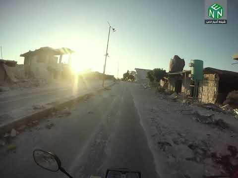 جولة داخل بلدة معرة حرمة في ريف إدلب الجنوبي – شبكة أخبار إدلب