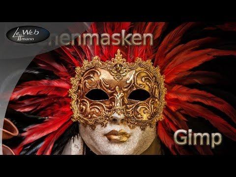 Die Masken auf die Person mit dem Olivenöl nach den 40-Jahren
