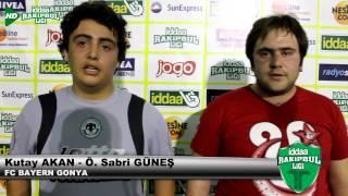 FC BAYERN GONYA KUTAY VE SABRİ GÜNEŞ RÖPORTAJ