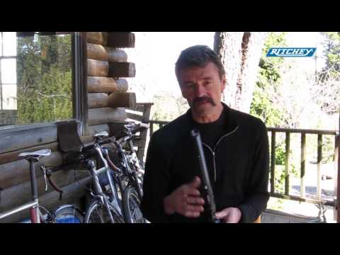 Tom Ritchey on the Vector Evo Saddle System