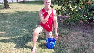 How to Use A Bucket of Rice for Finger, Hand, Wrist, and Elbow Strengthening