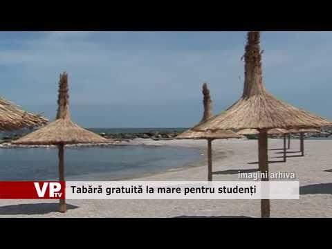 Tabără gratuită la mare pentru studenți