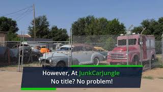 Where to Junk a Car Without Title Near Gary, IN