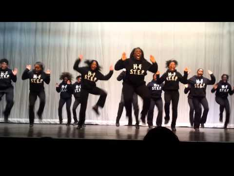 Psi Phi Beta Stepping Competition - Homewood/Flossmoor High School Steppers