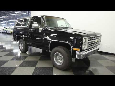 Video of '85 Blazer K5 Silverado - L193