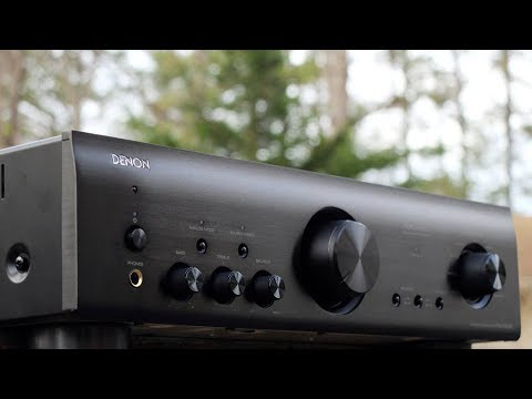 Review! The Denon PMA800NE Integrated Amplifier.