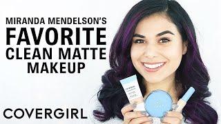 Miranda Mendelson Shares Her Favorite COVERGIRL Clean Matte Makeup