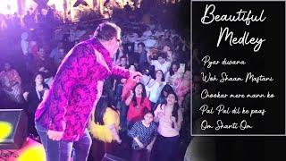 Medley | Pyar Diwana hota Hai | Yeh Shaam | Pal Pal | Chookar Mere Man Ko | Om Shanti Om | Abhijeet