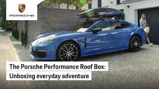 The Porsche Tequipment New Performance Roof Box