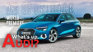 YouTube Video cwor6U4JuVI for Product Audi A3 Sportback (4th gen, Typ 8Y) by Company Audi in Industry Cars