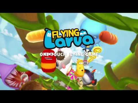 Видео Flying LARVA