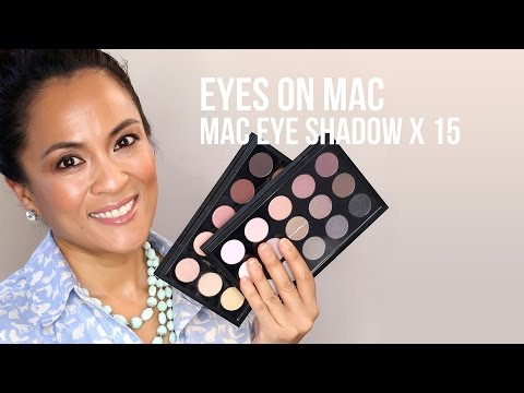 MAC Eye Shadow X 15 Neutral Palettes From the Eyes on MAC Collection: First Impressions