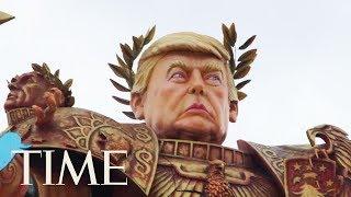 Massive Emperor Trump Float Presides Over Italian Carnival | TIME
