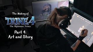 Trine 4 - Art and Story