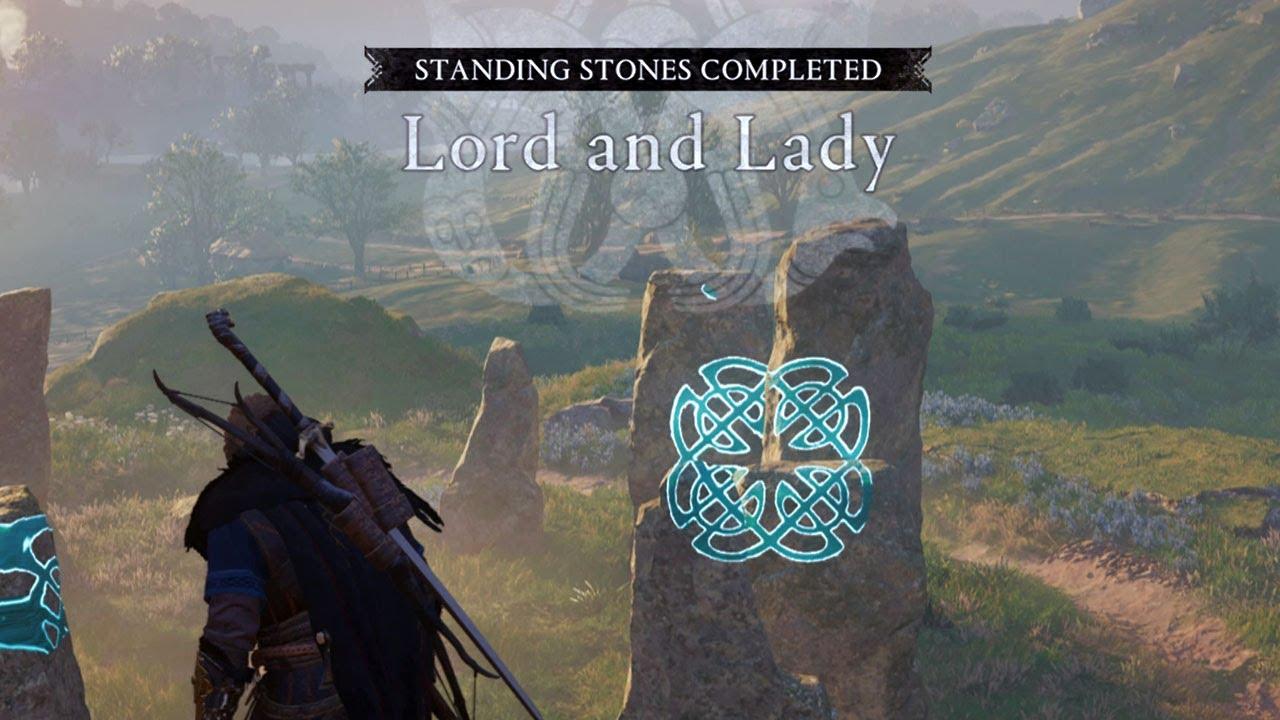 Video Lord and Lady Standing Stones Walkthrough in Grantebridgescire